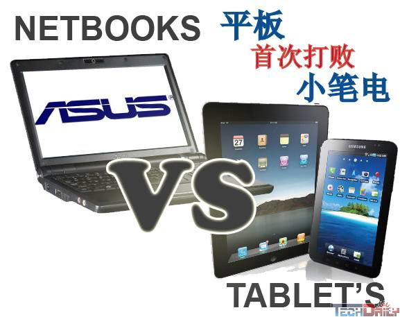 PC危机?Tablet首度超越Netbook